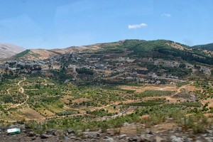 Drusen leben an den steilen Hängen des Golan. (© Matthias Hinrichsen)
