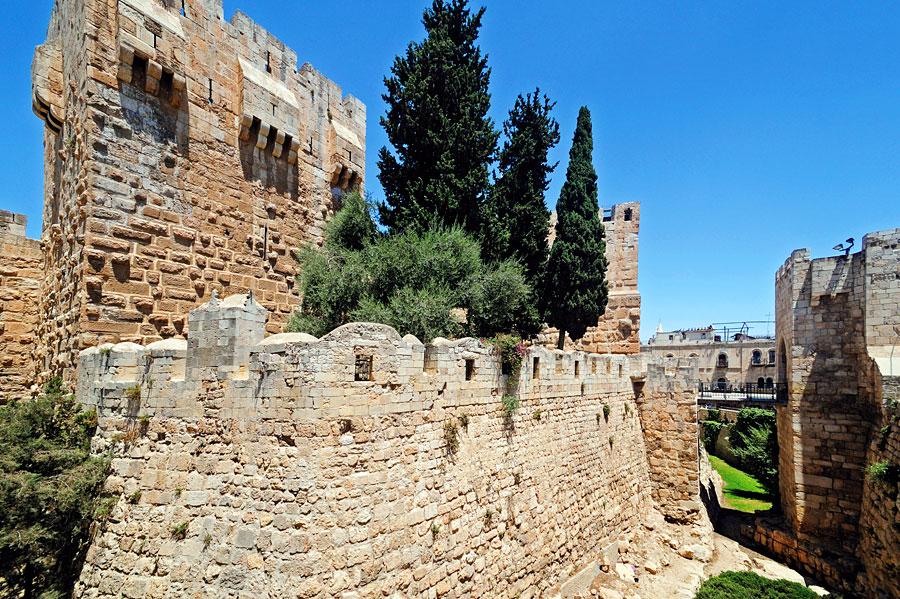 Die Davidszitadelle war einst eine Festung, heute ist sie ein Ort der Kultur und Geschichte. (© Matthias Hinrichsen)