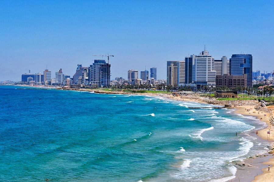 Tel Aviv ist das weltliche Zentrum Israels und Sitz der Deutschen Botschaft. (© Matthias Hinrichsen)