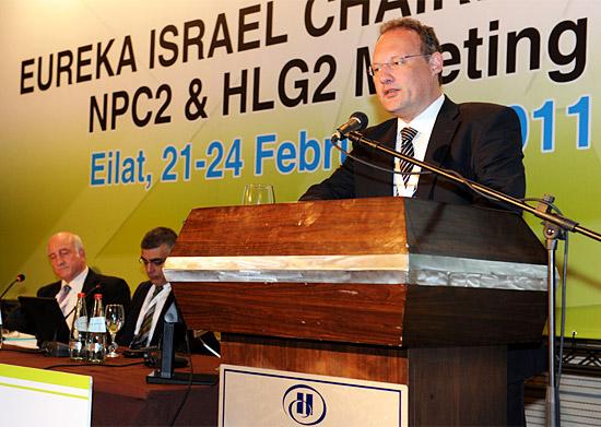 Die erste EUREKA-Konferenz fand in Eilat statt. (© EUREKA)