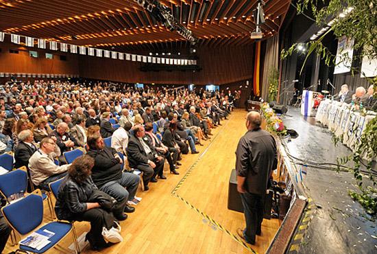 Die Teilnehmer des 1. Deutschen Israelkongresses verfolgten sämtliche Veranstaltungspunkte mit sehr großem Interesse. (© Matthias Hinrichsen)