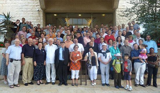 Sämtliche Teilnehmer der Ratstagung in Nazareth. (© BEFG)