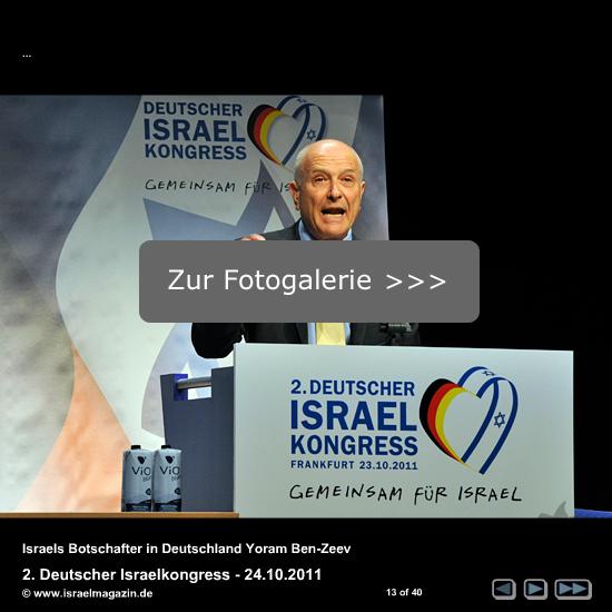 Zur Fotogalerie Israelkongress 2011