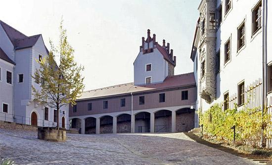 Die Evangelische Akademie Meißen liegt in der historischen Altstadt Meißens. (© Evangelische Akademie Meißen)