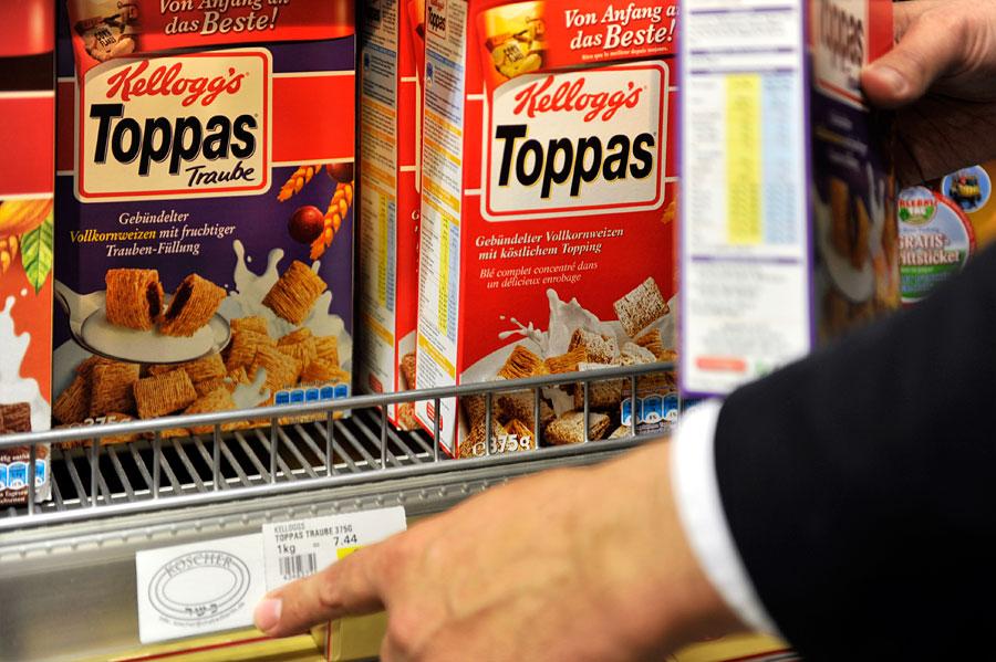 Viele Lebensmittelprodukte sind seit Jahrzehnten koscher.