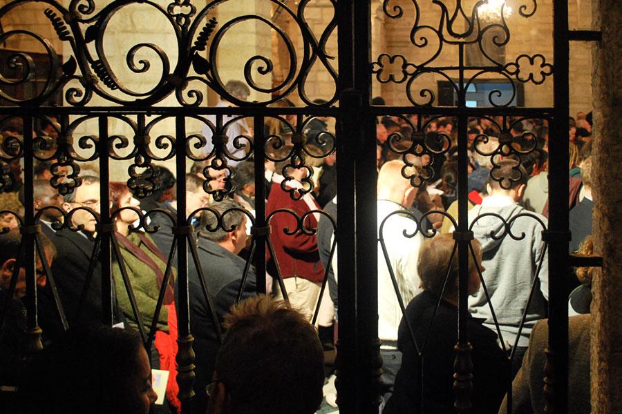 Weihnachten in Israel: Mitternachtsmesse in Bethlehem (© Chadica/flickr CC BY 2.0)