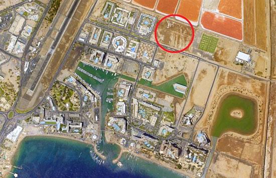 Dort soll das neue Kongress- und Veranstaltungszentrum Eilats errichtet werden. (© Israel Trade Center)