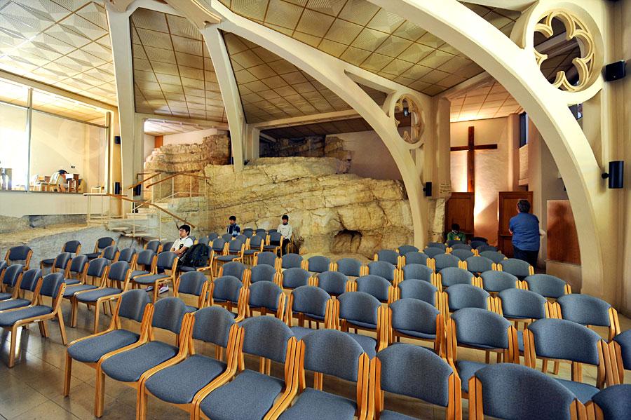 Unterer Kirchenraum. (© Matthias Hinrichsen)