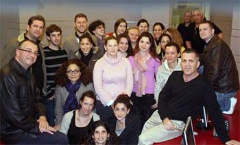 Die Kreativen des Teams Israel. (©  Israeli sd team 2013)