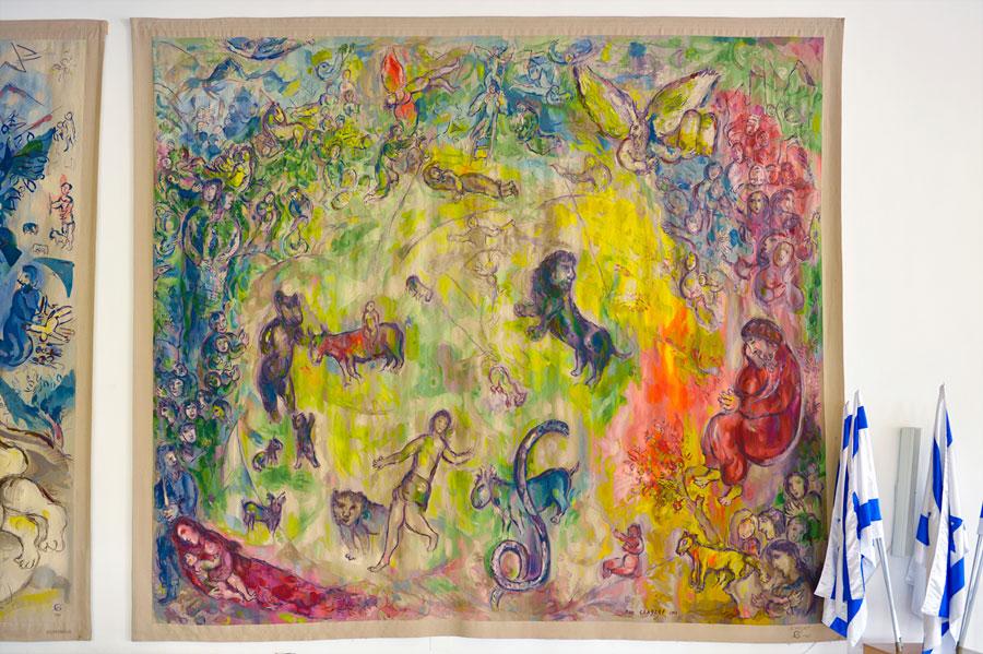 Rechter Wandteppich Chagall