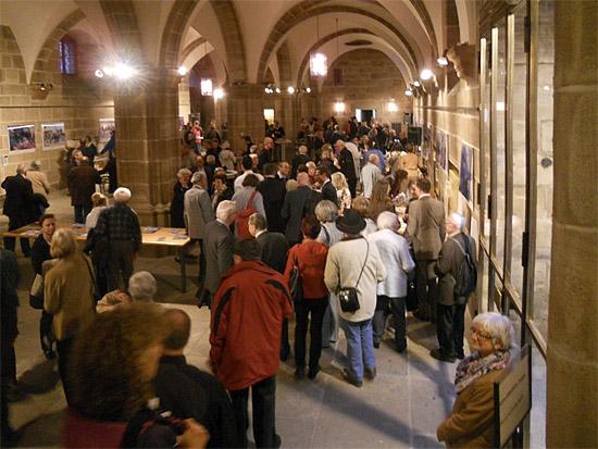 Eröffnung der Ausstellung. (© Hans-Werner Nawracala)