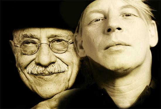Giora Feidman und Ben Becker treten am 22. August 2013 um 20.00 Uhr auf. (© F. Broede/Jüdische Kulturtage)