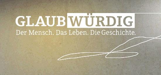 """In der Reihe """"Glaubwürdig"""" wird am 22. Juni die Jüdin Tsipi Lev portraitiert, die wegen der Liebe nach Deutschland kam. (Logo der Sendereihe)"""
