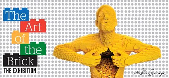 """Die Ausstellung """"The Art of the brick"""" - Kunstwerke aus LEGO-Steinen - bis 27.8.13 in Tel Aviv. (Website)"""