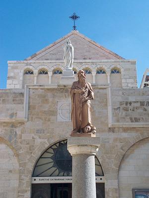 Die Katharinenkirche in Bethlehem. (© Biblische Reisen)