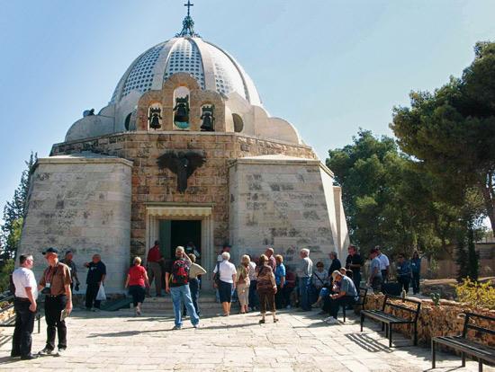 Kirche bei den Hirtenfeldern in Betlehem. (© Biblische Reisen)