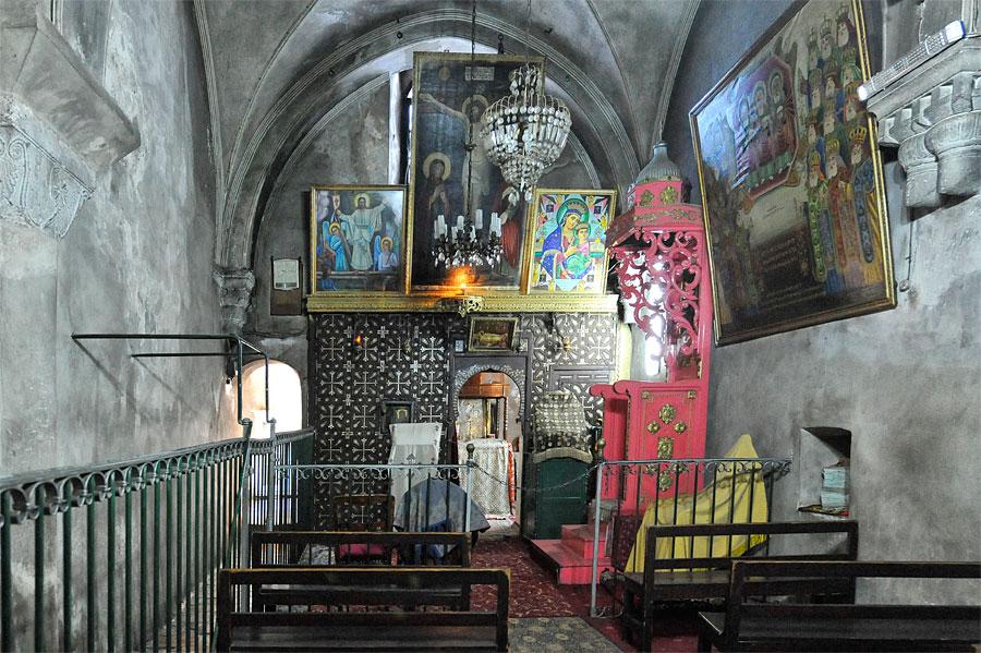 Äthiopische Kirche auf der Via Dolorosa in Jerusalem. (© Matthias Hinrichsen)