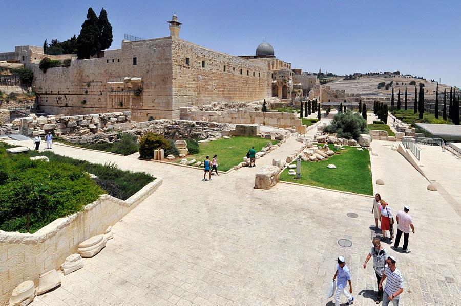 Archäologische Park Jerusalem