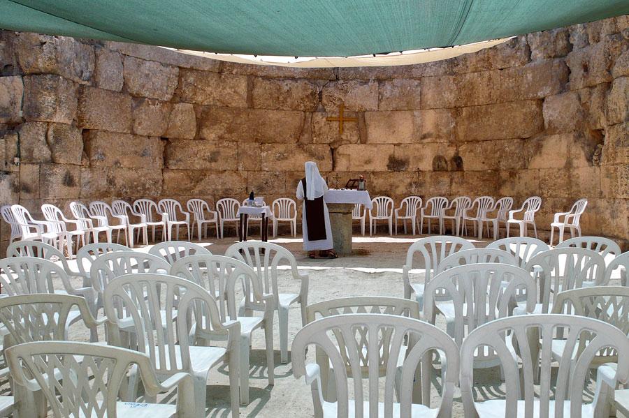 Das heutige Emwas, früher Nikopolis, ist wahrscheinlich nicht das biblische Emmaus, auch wenn dort viel Christliches zu sehen ist. (© Matthias Hinrichsen)
