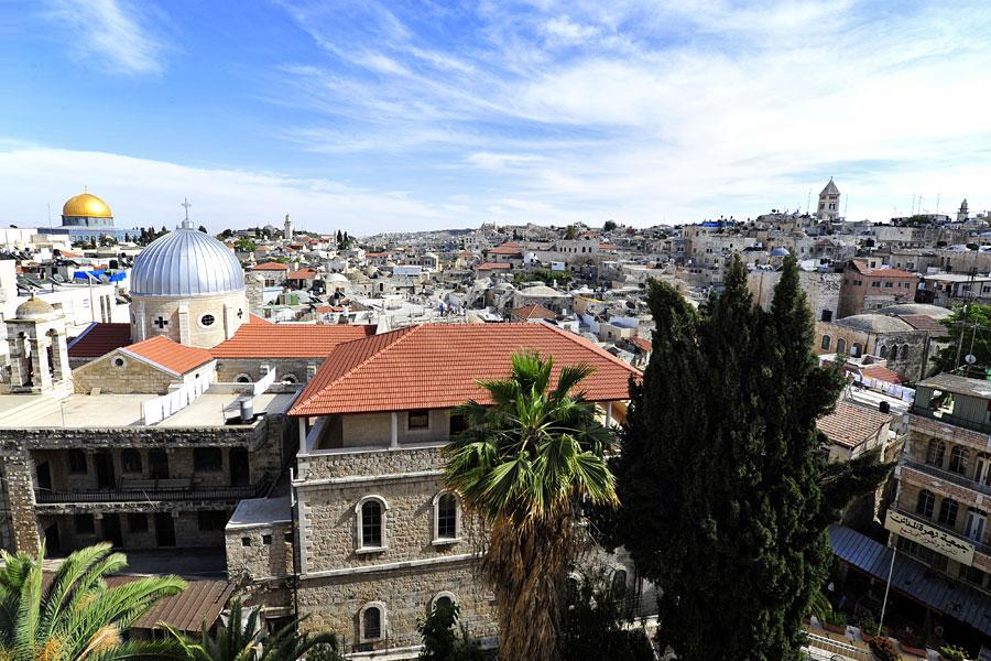 Die Altstadt Jerusalems ist jedes Jahr Anziehungspunkt für Millionen von Besuchern. (© IsraelMagazin)