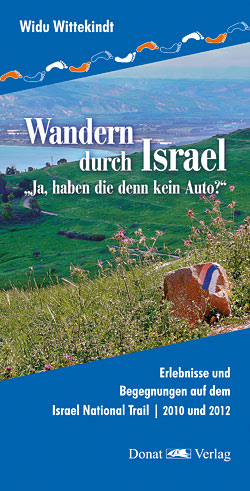 """Das Buch """"Wandern in Israel"""" ist im Buchhandel erhältlich."""