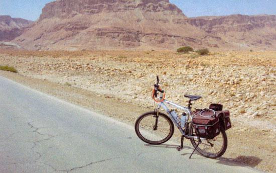Einsam aber glücklich in der Wüste Israels. (©  Johannes Reichert)