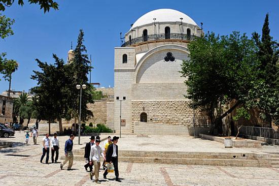 Hurva Synagoge Altstadt Jerusalem