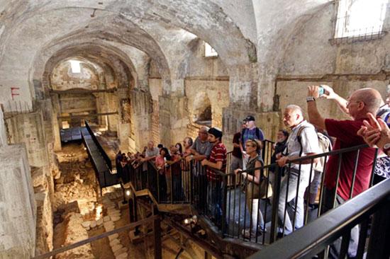 Ein Blick hinter die Kulissen wird einmalig möglich sein. Auch bei archäologischen Ausgrabungsstätten. (© Open House Jerusalem)