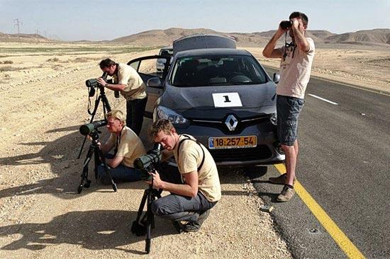 Ausflüge zu interessanten Beobachtungsstellen in der Eilat umgebenden Wüste stehen auch auf dem Programm. (© Dov Greenblat)
