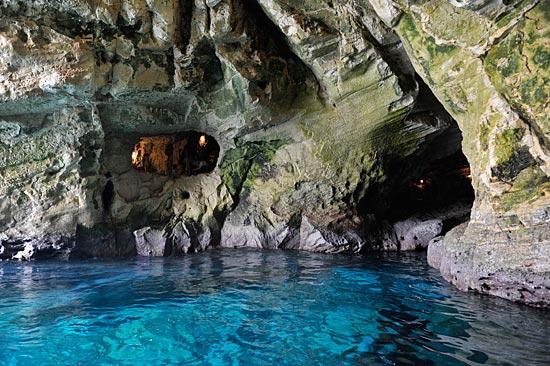 In den Höhlen von Rosh HaNikra. (© Matthias Hinrichsen)
