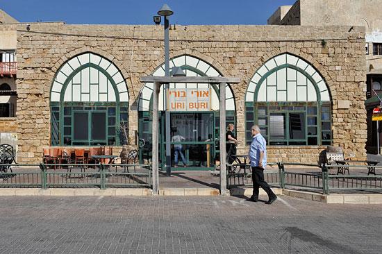 Das Fischrestaurant Uri Buri in Akko gilt als das beste in Israel. (© Matthias Hinrichsen)