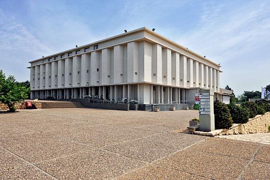 Hauptgebäude in Lohamei HaGetaot. (© Matthias Hinrichsen)