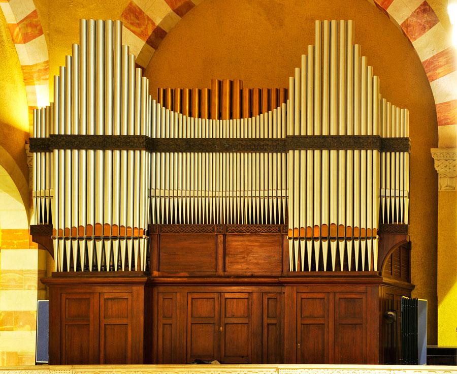 Orgel Himmelfahrtkirche Jerusalem