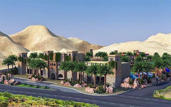In Eilat entsteht 2017 ein neuer Wasserpark. (© Stadt Eilat)