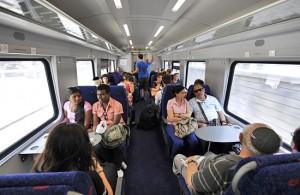 Von Haifa nach Bet Shean in nur 57 Minuten, möglich mit der neuen Zugverbindung. (© Matthias Hinrichsen)