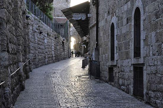Via Dolorosa, Jerusalem. (© Matthias Hinrichsen)