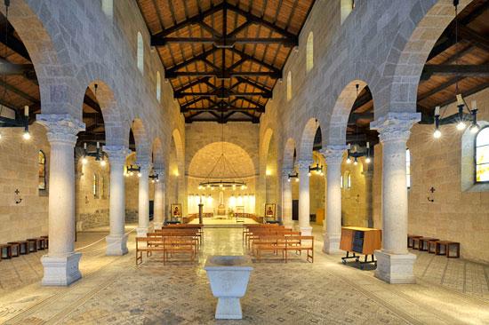 Kirche Kloster Tabgha. (© Matthias Hinrichsen)