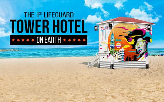 So soll das 5-Sterne-Hotel am Strand von Tel Aviv aussehen. (© Tel Aviv Tourismus)