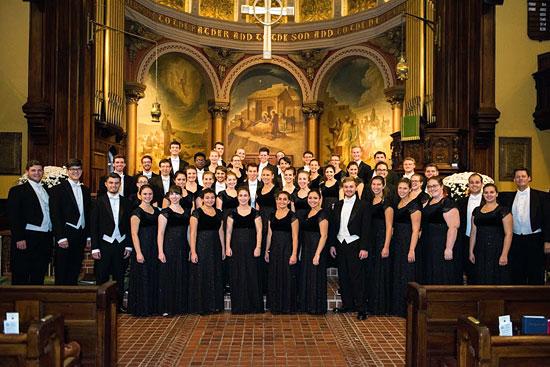 Delaware Chor. (© Abu Gosh Festival)