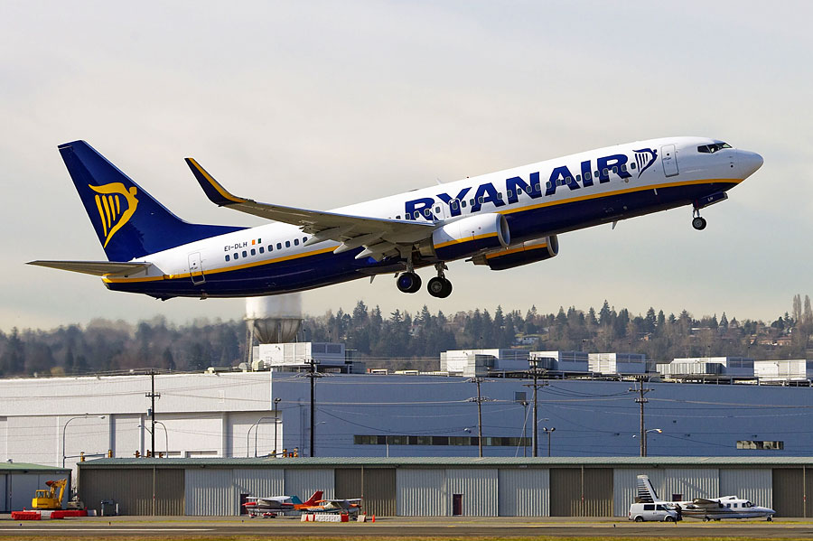 Mit Ryanair kann man ab 29./30.10. von fünf deutschen Flughäfen  nach Eilat fliegen. (© Boeing)
