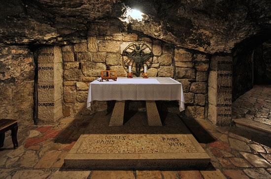 Bethlehem, Geburtskirche, Hieronymusgrotte. (© Matthias Hinrichsen)