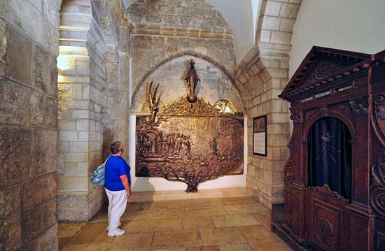 Bethlehem, Katharinenkirche, Relief. (© Matthias Hinrichsen)