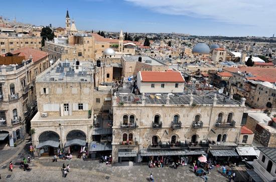 Jerusalem, Altstadt, christliches Viertel. (© Matthias Hinrichsen)