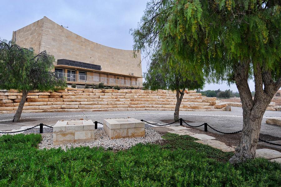Grab David Ben Gurion. (© Matthias Hinrichsen)