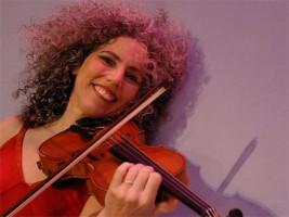 Auf dem Klezmer-Festival in Fürth: Alicia Svigals´ Klezmer Fiddle Express. (©Tina Chaden)