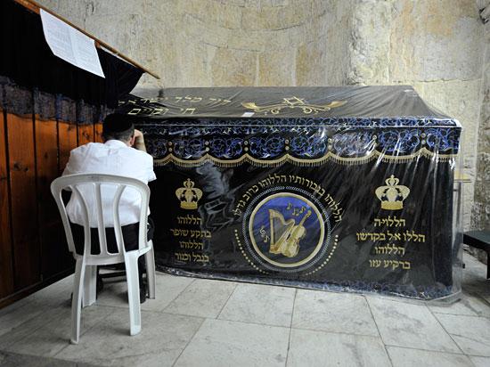 Grab von König David. (© Matthias Hinrichsen)