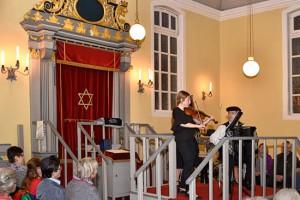 Toraschrein Celler Synagoge. (© Matthias Hinrichsen)