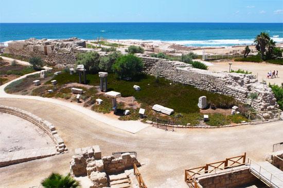 Hier stand zur Römerzeit ein Palast von Herodes. (© Matthias Hinrichsen)