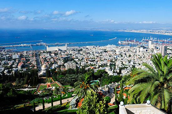 Haifa ist die größte Hafenstadt Israels mit zahlreichen Attraktionen.  (© Matthias Hinrichsen)