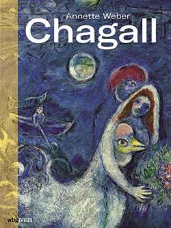 """Titelseite """"Chagall"""" von Annette Weber."""